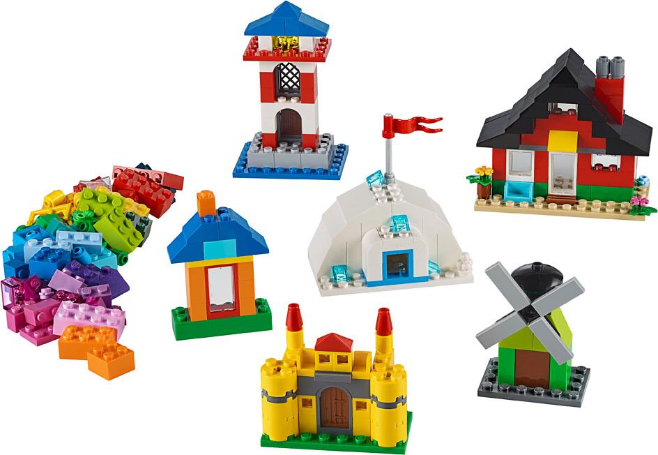 Lego Classic Bricks and Houses-2