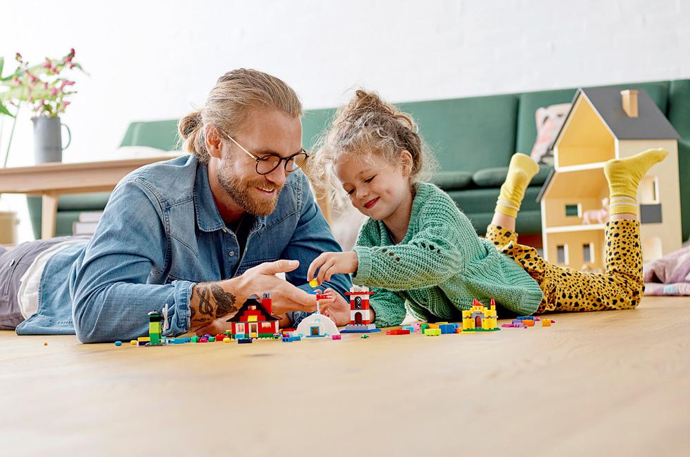 Lego Classic Bricks and Houses-3