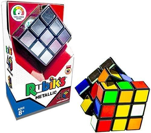 Rubik's 40th Anniversary Metallic Cube-2