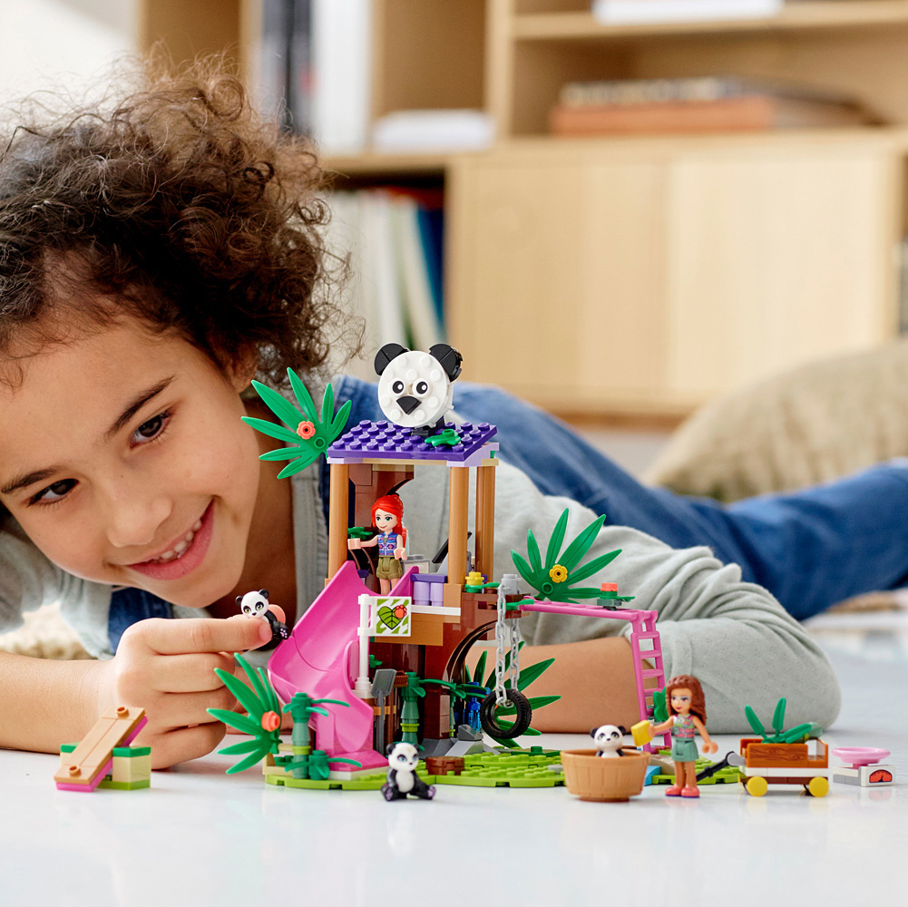 LEGO Friends Panda Jungle Tree House-2