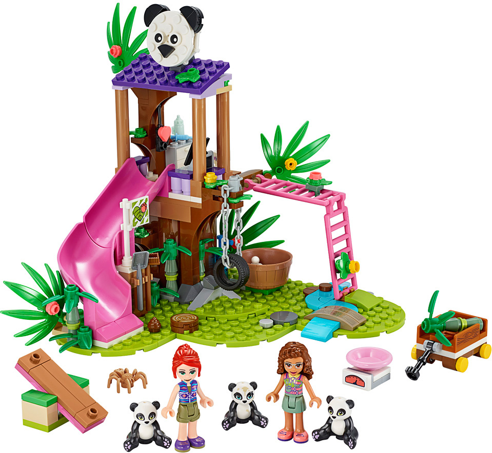 LEGO Friends Panda Jungle Tree House-3