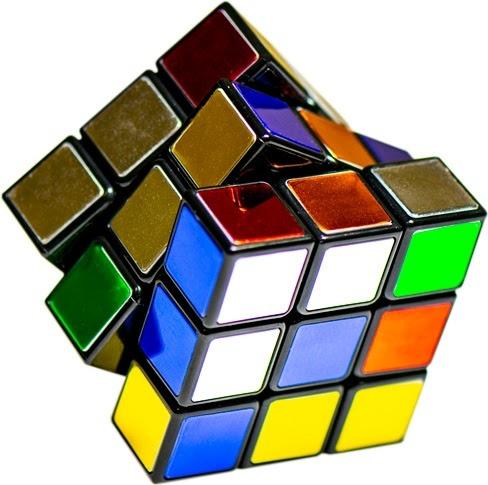 Rubik's 40th Anniversary Metallic Cube-1