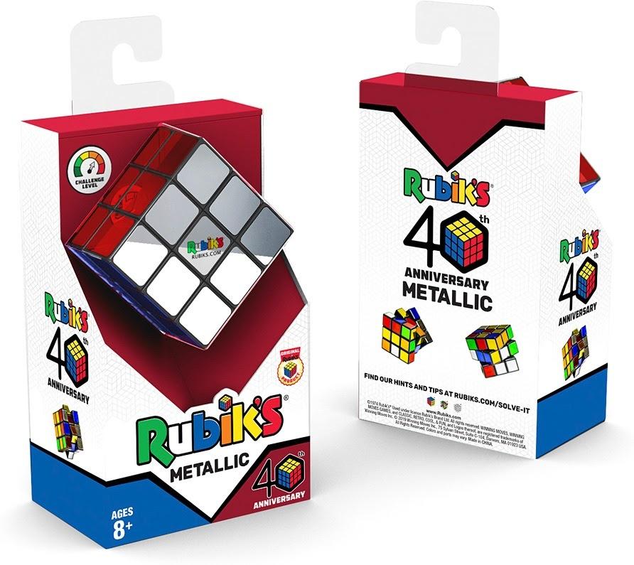 Rubik's 40th Anniversary Metallic Cube-3