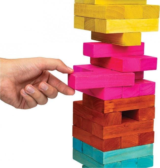 Giant Tumbling Tower a Jenga Game-2