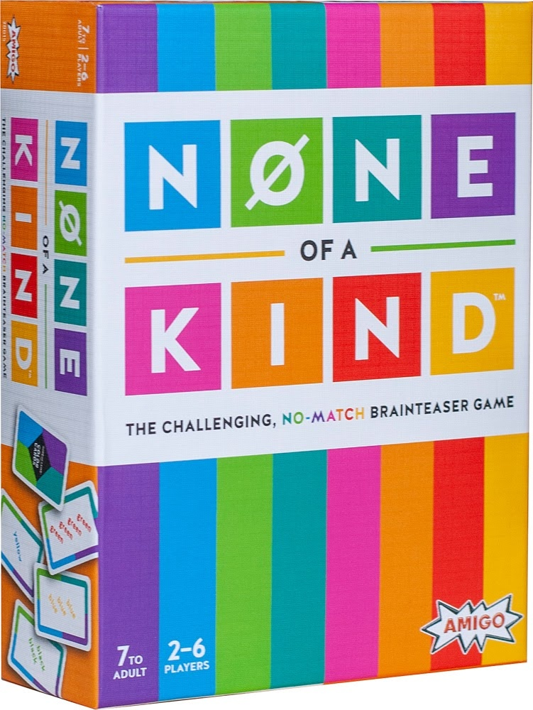 None of a Kind Card Game-2