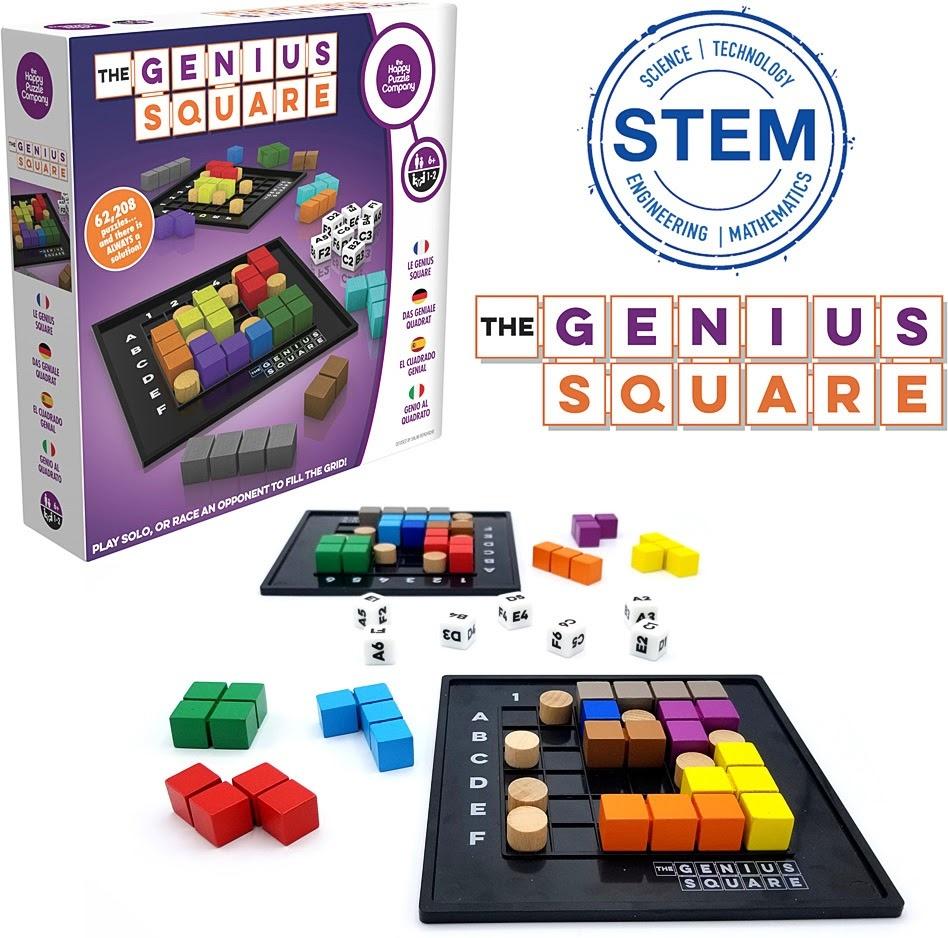 The Genius Square Game-2