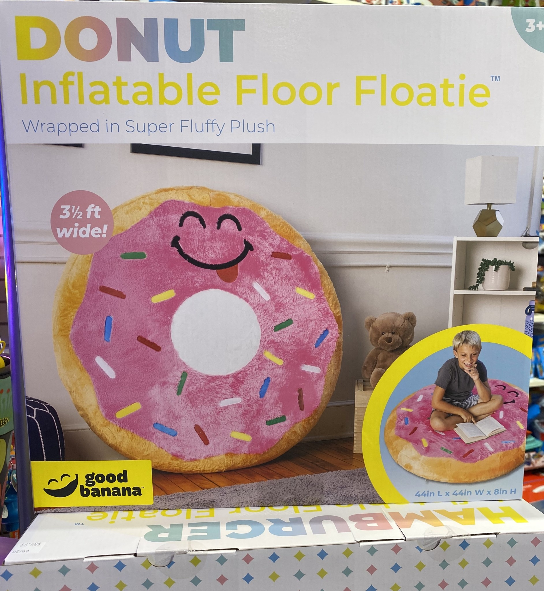 Donut Inflatable Floor Floatie-2