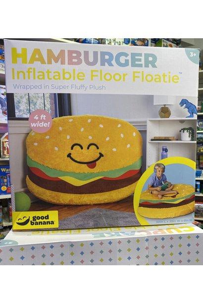 Hamburger Inflatable Floor Floatie