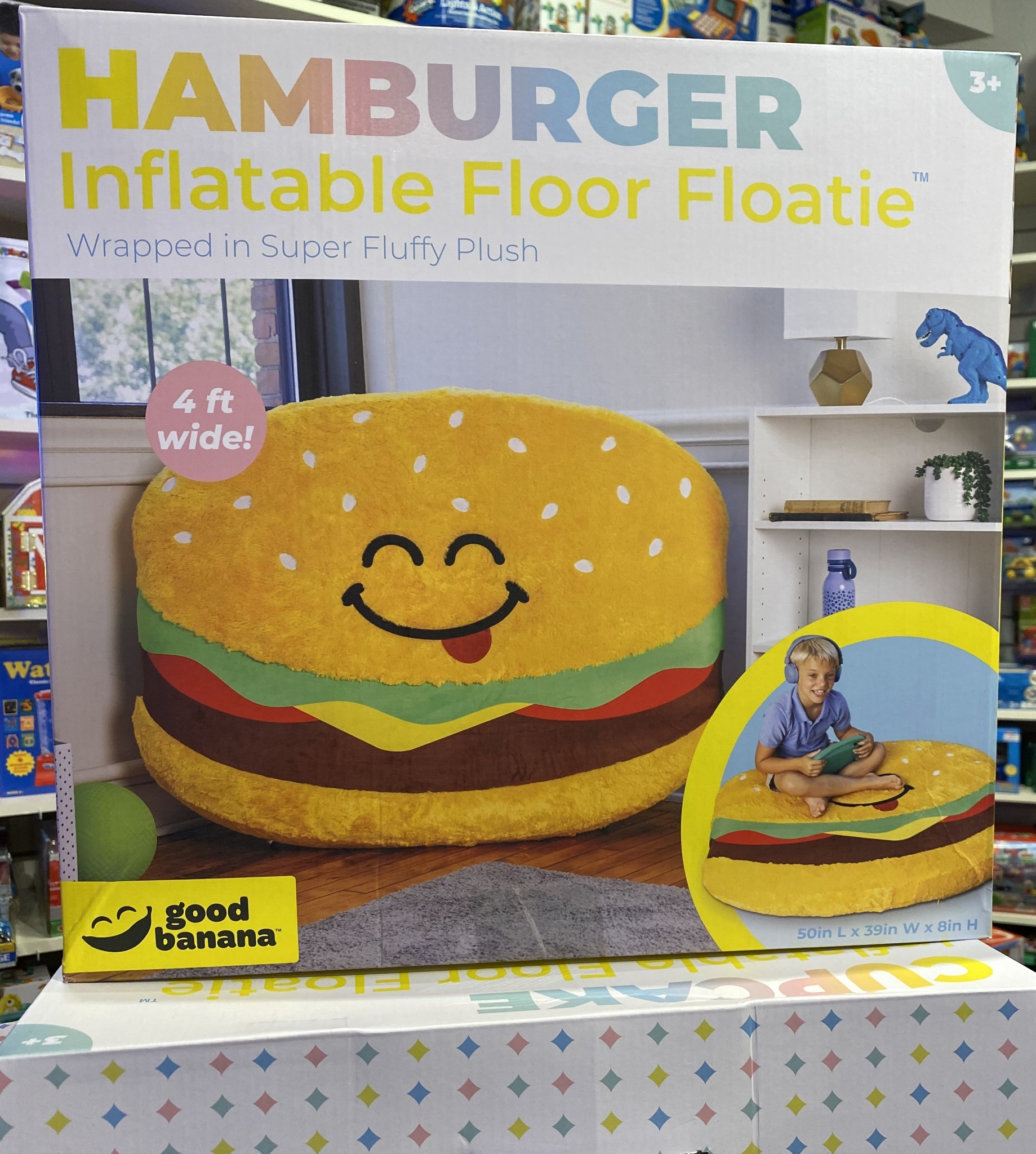 Hamburger Inflatable Floor Floatie-2