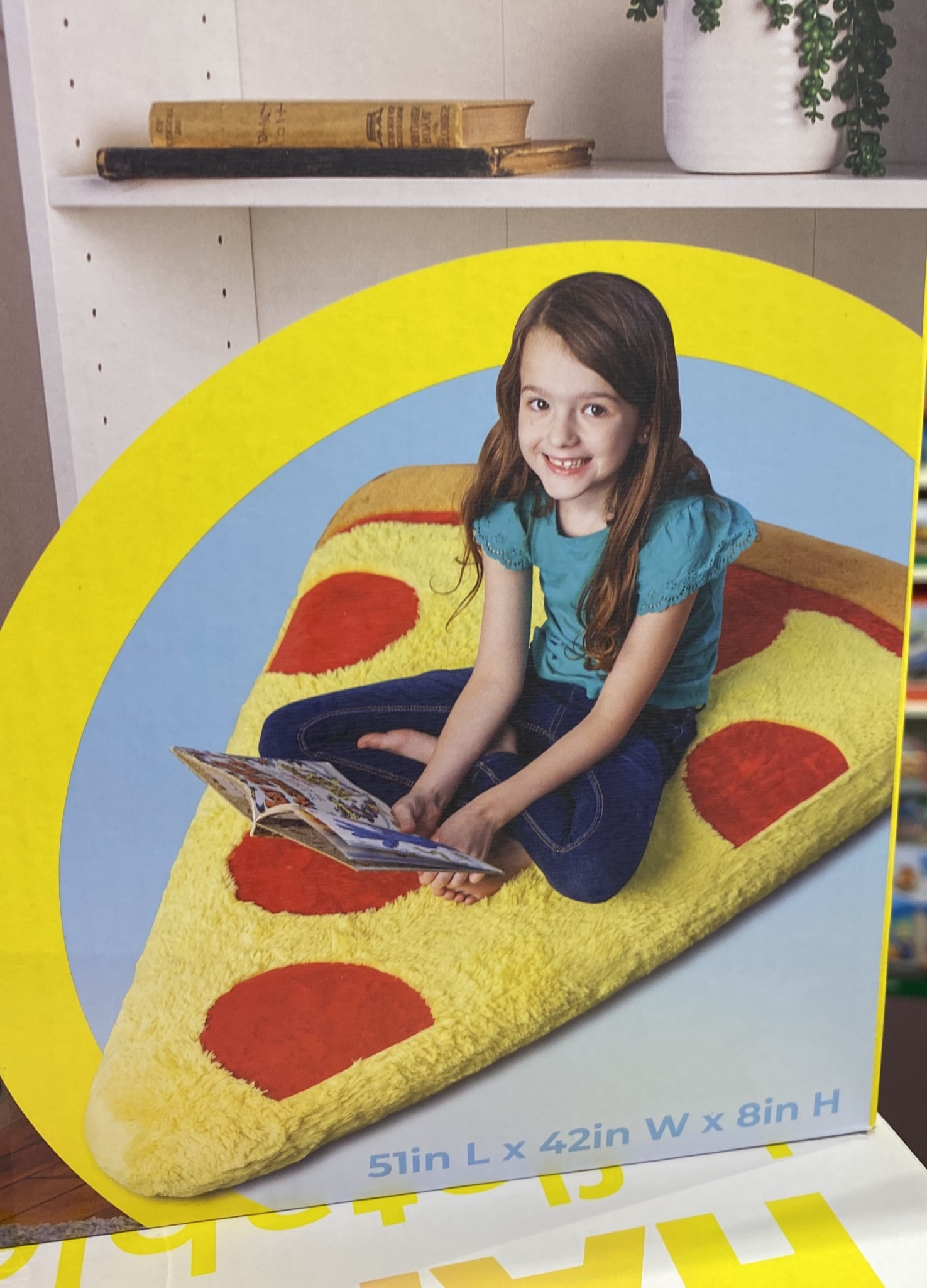 Pizza Inflatable Floor Floatie-3