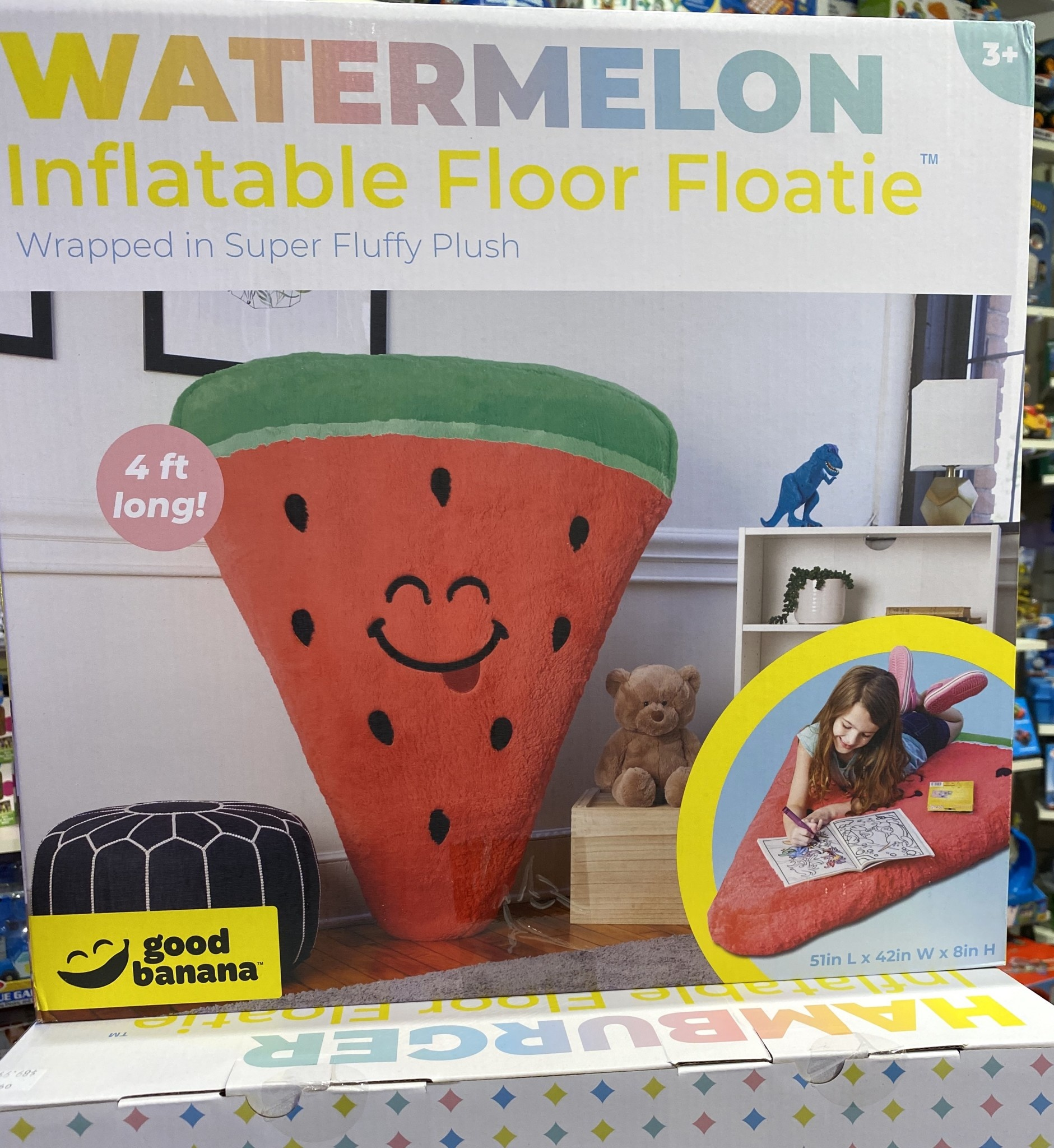 Watermelon Inflatable Floor Floatie-2