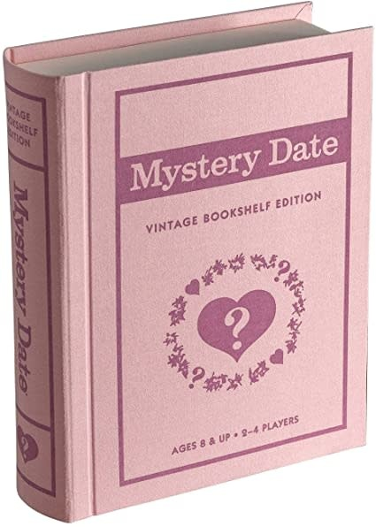 Mystery Date Vintage Bookshelf Edition-1