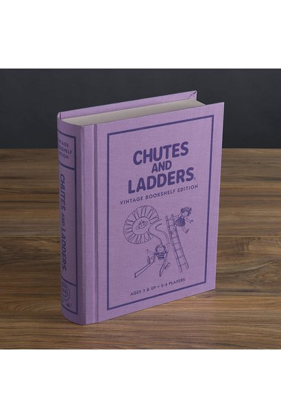Chutes and Ladders Game Vintage Bookshelf Edition
