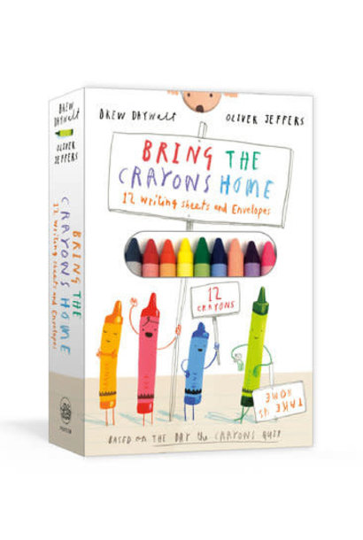Bring The Crayons Home Writing Kit
