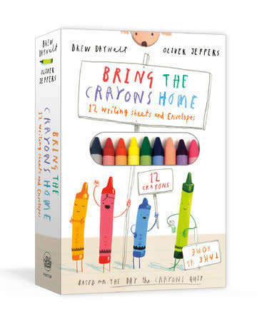 Bring The Crayons Home Writing Kit-1
