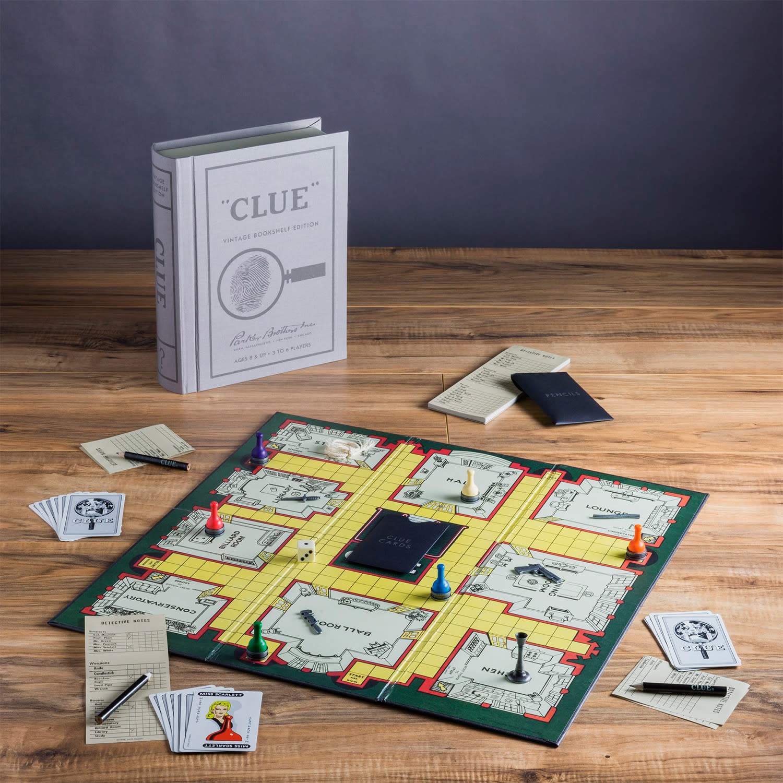 Clue Vinatge Bookshelf Edition-2