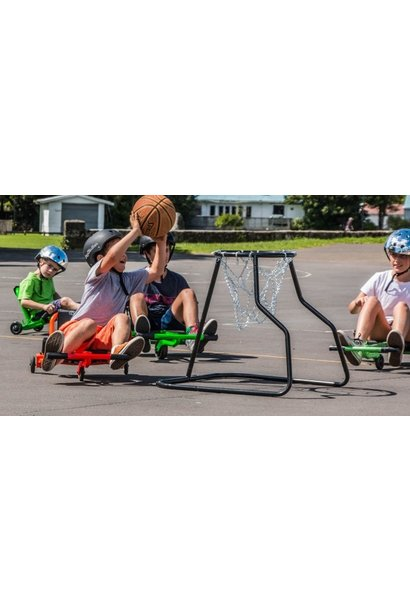 EzyRoller Basketball Hoop Black