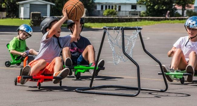 EzyRoller Basketball Hoop Black-1