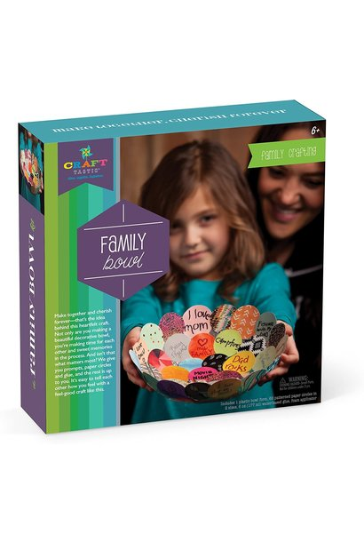 Craft-tastic Make Together Family  Bowl