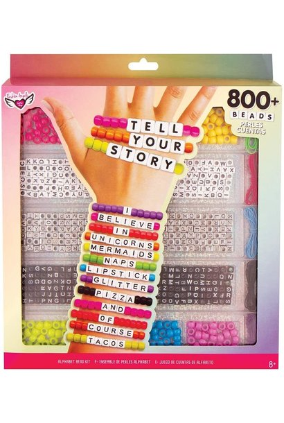TYS Alphabet Bead Case Lg