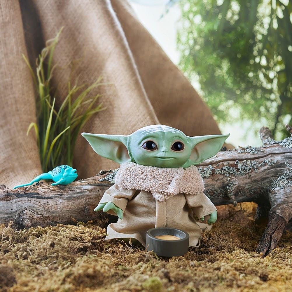 Star Wars The Child Talking Plush-4