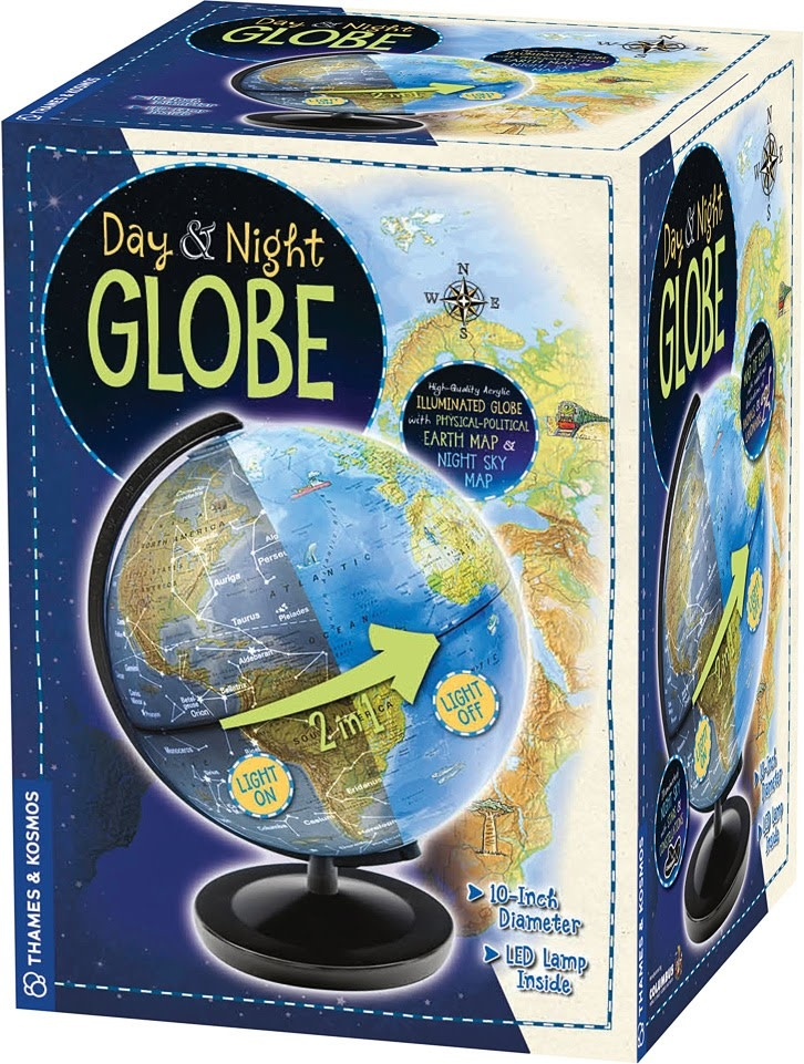 Day & Night Globe by Thames-1