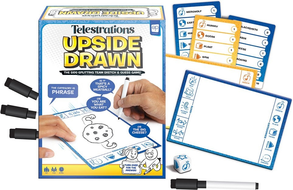 Telestrations Upside Drawn Game-2