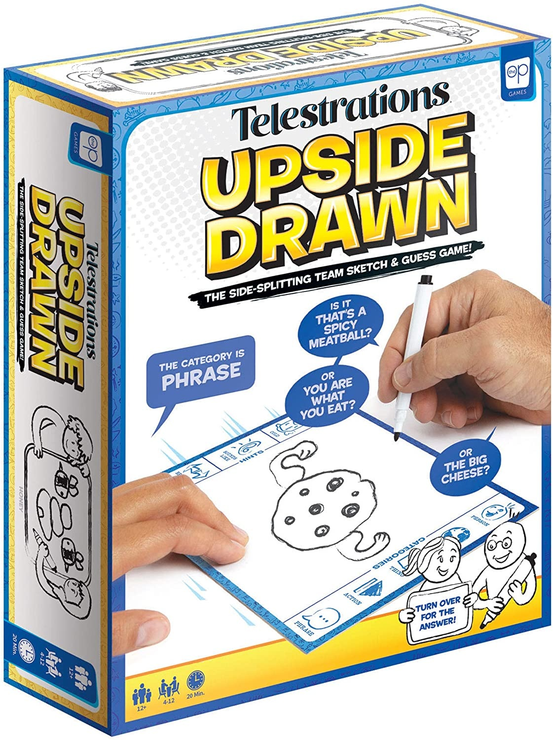 Telestrations Upside Drawn Game-1