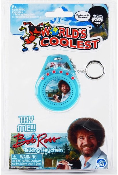 Super Impulse Bob Ross Talking Keychain