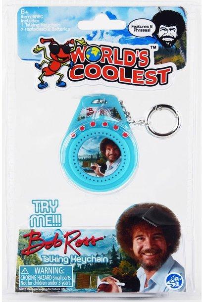 Super Impulse Bob Ross Talking Keychain