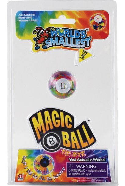 Super Impulse Magic 8 Ball Tie Dye