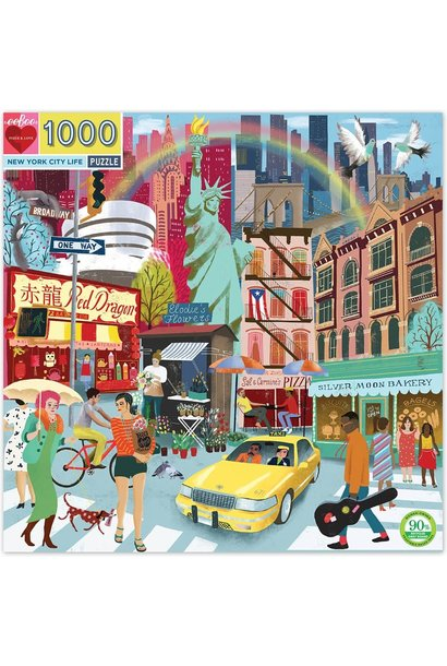 New York City Life Puzzle 1000 pc
