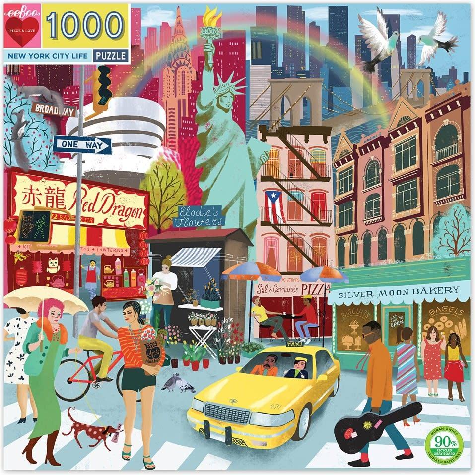 New York City Life Puzzle 1000 pc-1
