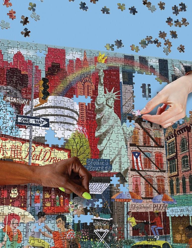 New York City Life Puzzle 1000 pc-2