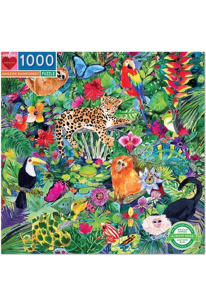 Amazon Rainforest Puzzle 1000 pc