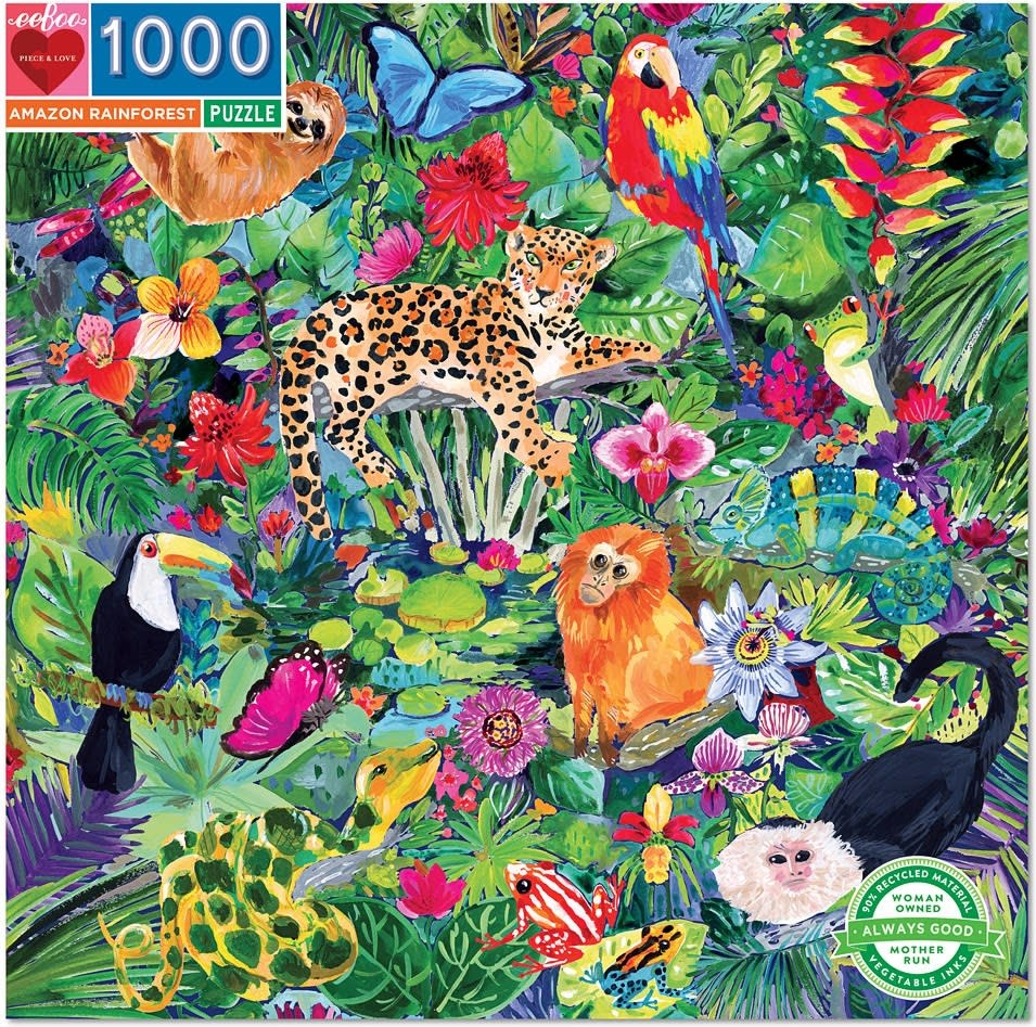 Amazon Rainforest Puzzle 1000 pc-1