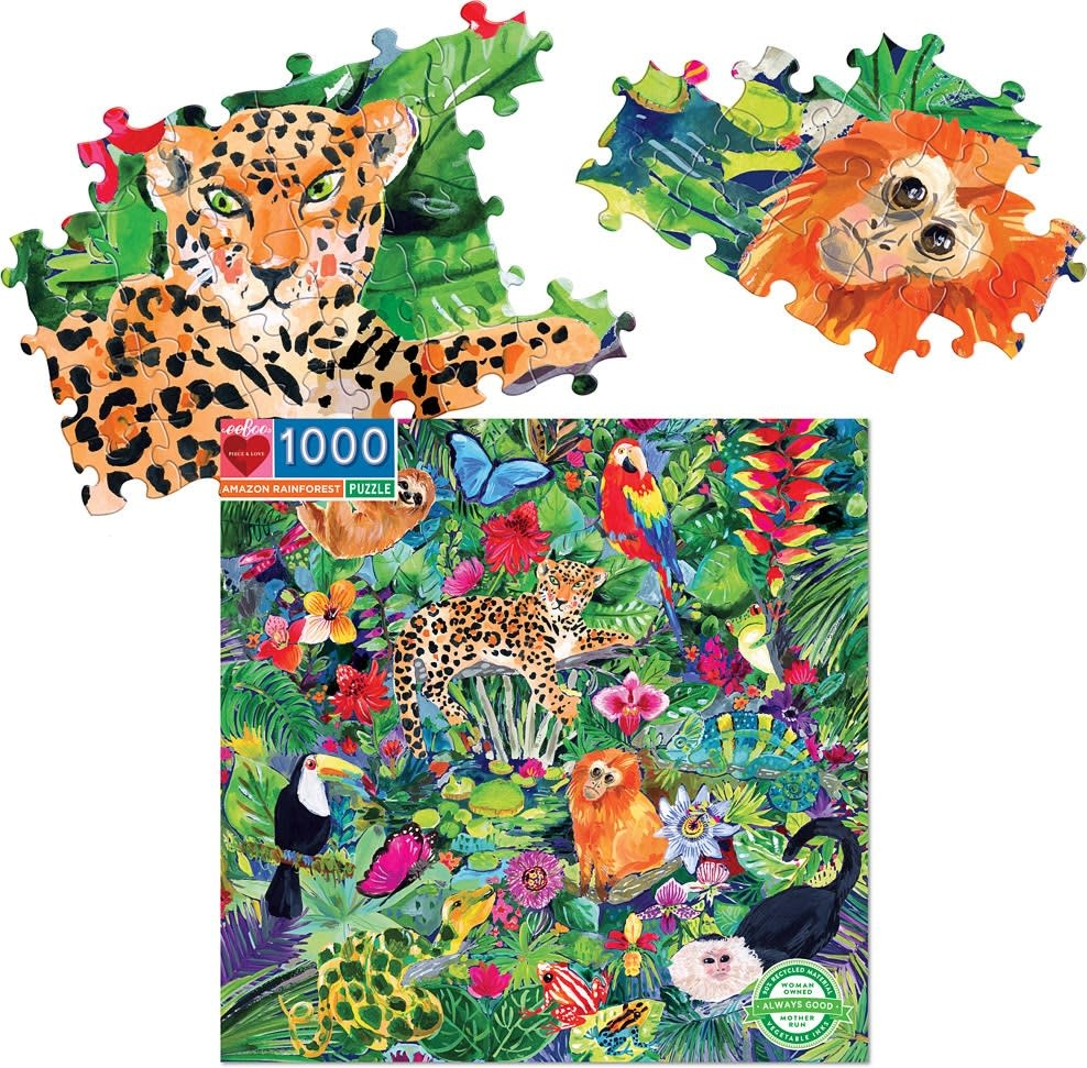 Amazon Rainforest Puzzle 1000 pc-2