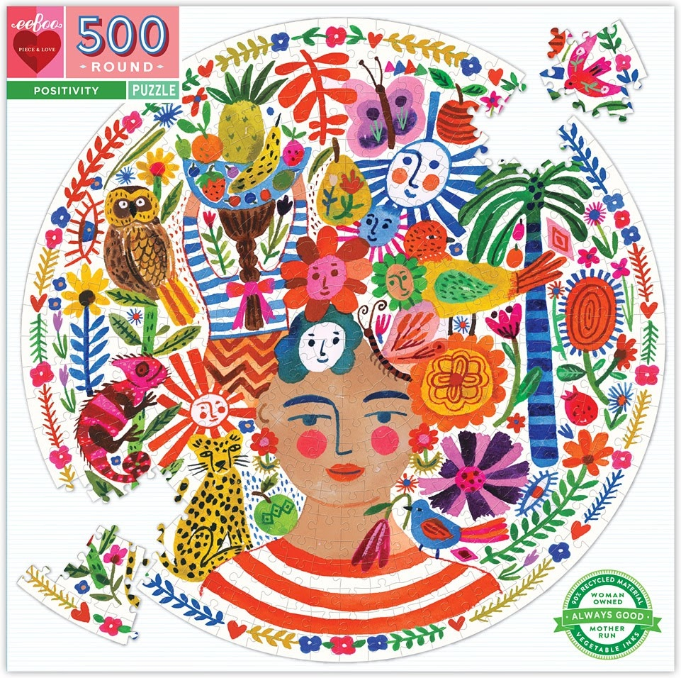 Positivity Puzzle 500 pc-1