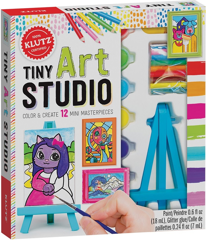 Klutz Tiny Art Studio-1