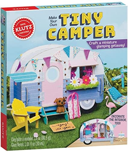 Klutz/Make Your Own Tiny Camper-1