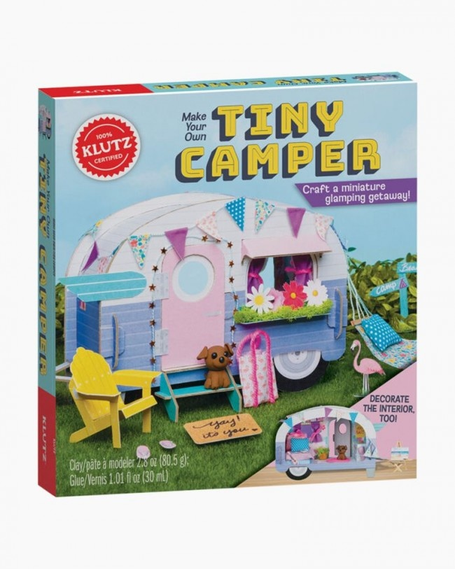 Klutz/Make Your Own Tiny Camper-4