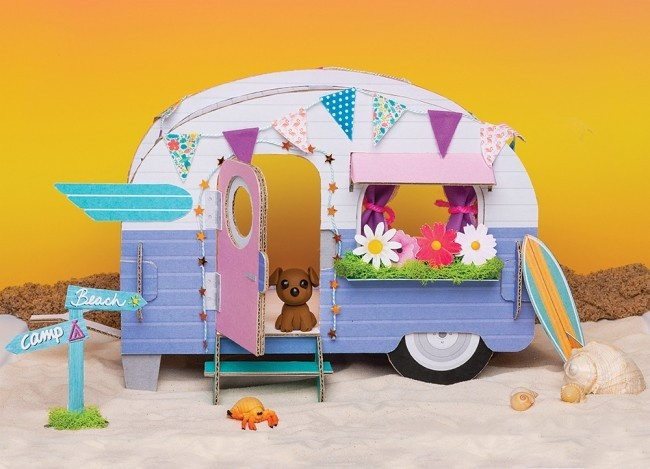 Klutz/Make Your Own Tiny Camper-2
