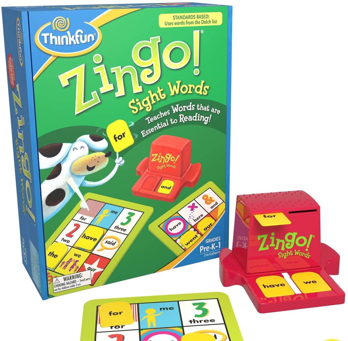 Game/Zingo! Sight Words-1