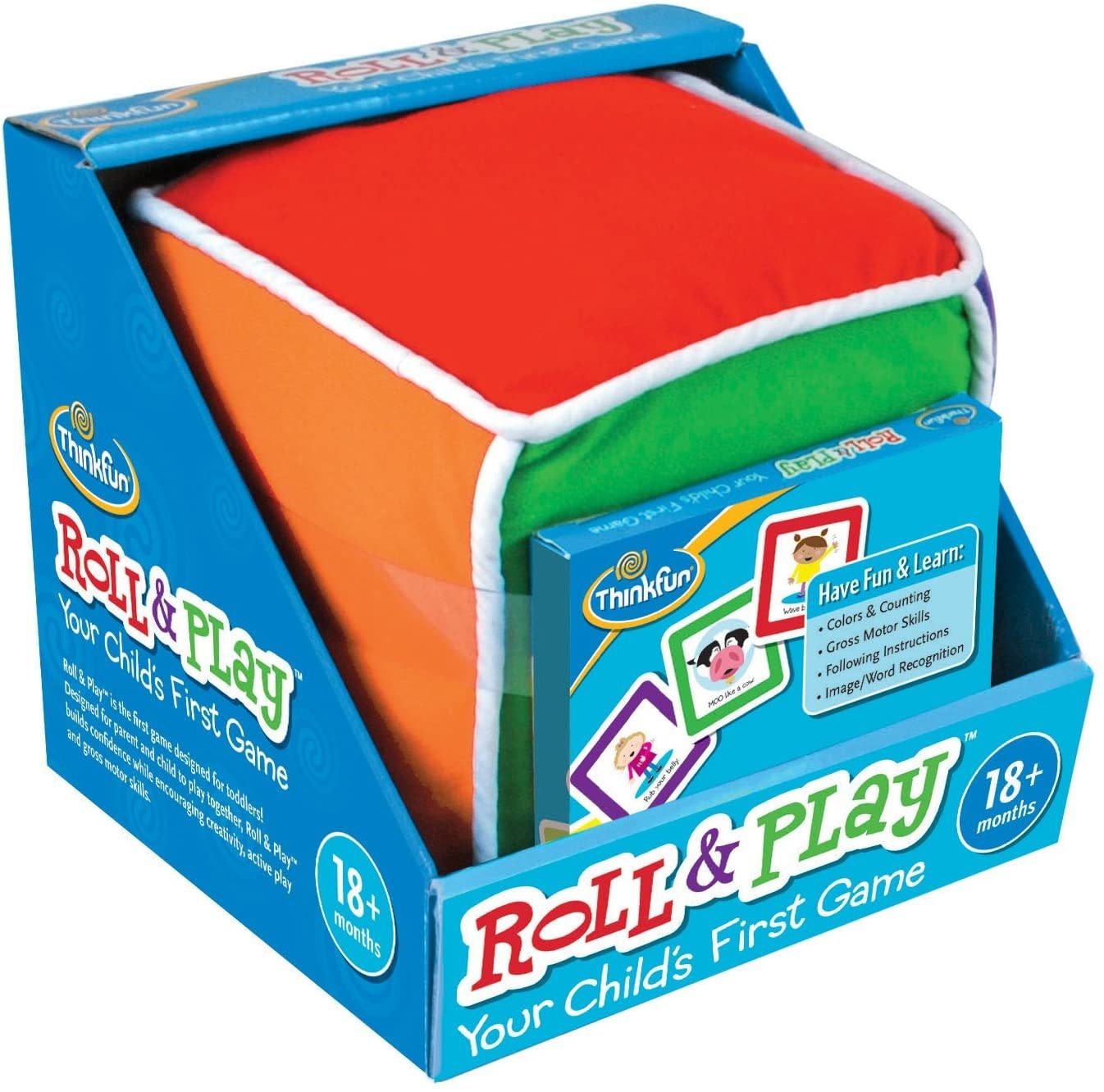 Roll & Play Game for Toddlers-1