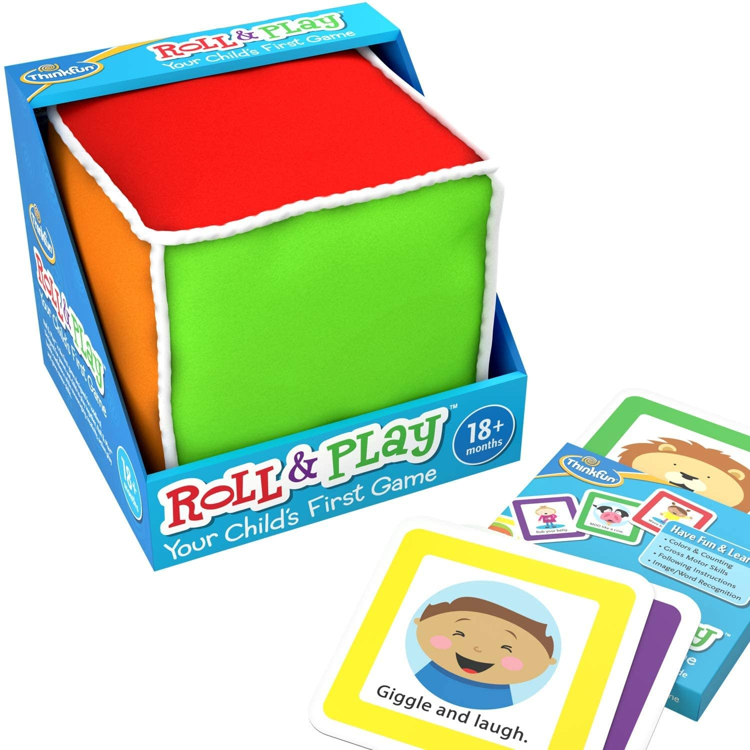 Roll & Play Game for Toddlers-2