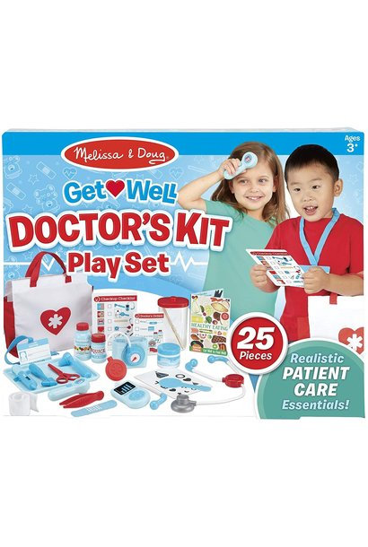 Get Well Doctor's Kit Playset MD