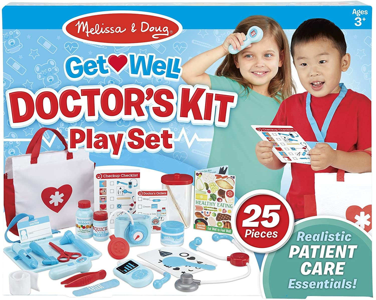 Get Well Doctor's Kit Playset MD-1