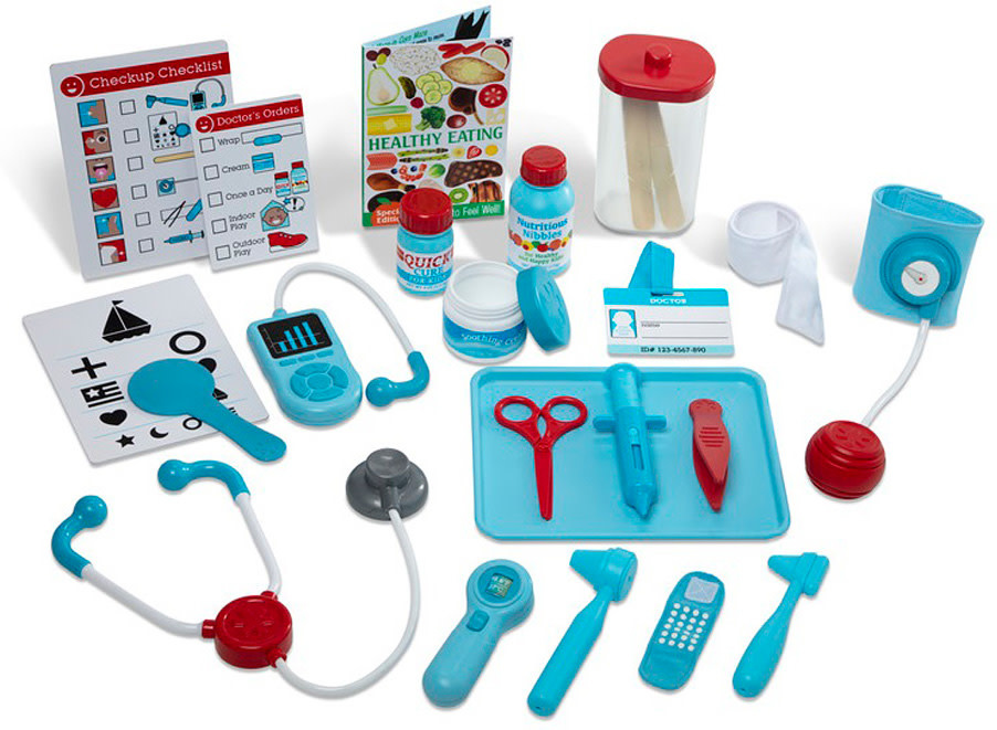 Get Well Doctor's Kit Playset MD-2