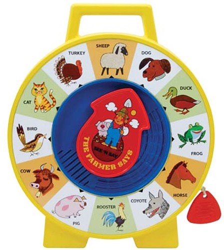 Fisher-Price See N' Say-2