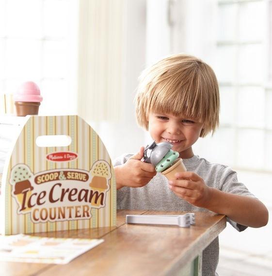 Scoop & Serve Ice Cream Counter-1